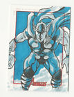 Thor 2012 Marvel Greatest Heroes Avengers Sketch Card by Unknown Artist 1 1