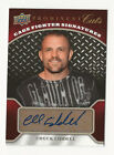 Chuck Liddell 2009 UD Prominent Cuts Cage Fighter Signatures Auto Card UFC