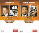 2016 SENIOR BOWL PENN STATE AUSTIN JOHNSON TENNESSEE TITANS ROOKIE bb