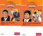 2015 UCLA SENIOR BOWL CONNER NEIGHBORS TENNESSEE TITANS ROOKIE bb