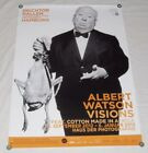 Albert Watson Visions Museum Exhibition Poster Alfred Hitchcock Photograph 2012