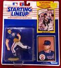 1989 STARTING LINEUP CHICAGO CUBS RICK SUTCLIFF FIGURE FIGURINE ~ EUC ON CARD