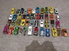 Mainly Hot Wheels Some Mattel Lot of 53 Toy Cars Diecast Used Great Condition