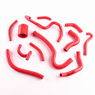 Red Silicone Breather  Vaccum Hose Kit for Toyota Celica GT4 ST205 3SGTE 94 99
