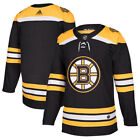 Boston Bruins Adidas Authentic Home NHL Hockey Jersey Any Name & Number Size 50