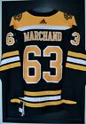 Brad Marchand Boston Bruins Adidas Authentic Home NHL Hockey Jersey Size 50