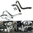 175 Drag Pipes Exhaust For Harley Touring Road King Gilde 1984 2016 13 14 15