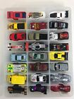 VINTAGE 80s 90s 00s MIXED LOT OF 48 Hot Wheels Diecast Metal w case