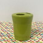 Fiestaware Lemongrass Toothbrush Holder Fiesta Green Retired Bathroom Accessory