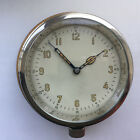 USSR Navy Ship 12 Hour Brass Wall Clock w/ Wooden Mounting Board