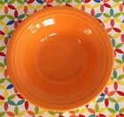 Fiestaware Tangerine Stacking Cereal Bowl Fiesta Retired Orange 11 oz Bowl