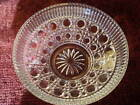 Vintage Round Clear Glass Candy/Nut Dish Serving Bowl  DIAMETER 7 1/2