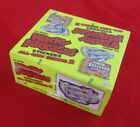 2005 WACKY PACKAGES ANS2 SEALED BOX MAGNETS TATTOOS (24 PKS 6 PER PACK)