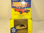 Thunderjet 500  WHITE  Dodge CHARGER HO Slot Car Body Johnny Lightning Pull-Back