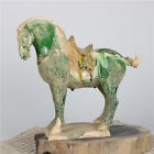 Tang Sancai unearthed war horse antique porcelain collection in Tang Dynasty