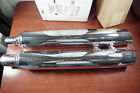 Stock OEM Harley Davidson Slip On Mufflers Exhaust Pipes 2017+ Harley Touring