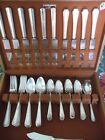 60 Pc. Set. Service for 12 Wm Rogers  Silver Plate Flatware (Mayfair) C.1923