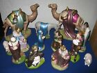 HOLLAND MOLD 13 PC NATIVITY SET