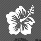 Hawaiian Hibiscus Flower Vinyl Car Laptop Decal Sticker Choose Color Size