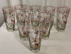 1950s Era Betty Hutton Libbey Circus Iced Tea Glasses, 6.5