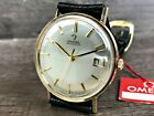 OMEGA GOLD PLATED AUTOMATIC MEN'S DATE WATCH Cal.562 FROM 1964 IMMACULATE!