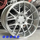 XXR 530D Wheels 18 +20 Silver Rims Staggered 5x1143 Stance Fit 96 Nissan 300zx