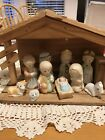 Christmas Around The World Little Lord Jesus Musical Lighted Nativity Vintage