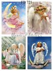 Sweet Little Angels 4 Prints on Fabric Great for Quilting Sewing FB 721