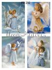 Sweet Little Angels 4 Prints on Fabric Great for Quilting Sewing FB 232