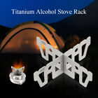 Titanium Alcohol Stove Rack Cross Stand Camping Stove Stand Support Rack N0Y4
