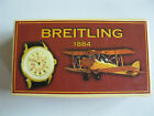 SOUVENIR ADVERTISING CARDBOARD BOX CASE FOR BREITLING POCKET WATCH