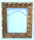 Gold Picture Frame Wood Antique Ornate 10