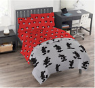 Disney Mickey Mouse Red Twin Sheet Set 3 Pieces Kids Bedding