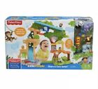 Fisher Price Little People Happy Animals Habitat Share and Care Safari Toy