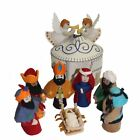 Magical Felt Nativity Set White Silk Road Bazaar