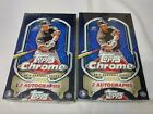 LOT(2) TWO BOXES 2014 TOPPS CHROME BASEBALL HOBBY FACTORY SEALED UNOPENED BOX F8