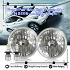 Front Pair 7 Round Headlights  H4 LED Hi Lo Beam Lamps for 1995 Geo Metro