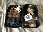 Boyd Bear Bearwear Miss Amirella and Ripley in Carrying case Teddy Bears