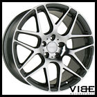20 ACE MESH 7 GREY MACHINED CONCAVE WHEELS RIMS FITS LEXUS SC430