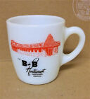 B Restaurant Nappanee IN advertising coffee cup