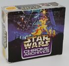 Star Wars Chrome Archives 36 sealed packs with display box
