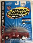 Brand new Road Champs 1956 Ford F-100 Pickup Truck, Texaco, red, 1/43 Scale