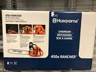Husqvarna 450e Rancher 50 cc 2 cycle 20 in Gas Chainsaw 9676512 01 NEW