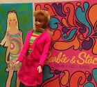 VINTAGE BARBIE 3 BLONDE PONYTAILMIDGE  STACEY BARBIE CLOTHES  CASE LOT