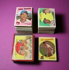 1959 Topps (270) STAR & HIGH# Baseball Card Lot MIXED Conditions HIGH VALUE LOT!