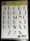 Stampin Up Empire Alphabet Upper Cling Mount set of 28