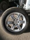 mitsubishi shogun sport alloy wheels and tyres