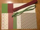 Stampin Up BE OF GOOD CHEER 6 x 6 CHRISTMAS Designer Paper Card Kit Ribbon