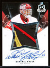 2007-08 THE CUP LIMITED LOGOS DOMINIK HASEK PATCH AUTO 41 50 GAME USED