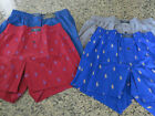 Polo RALPH LAUREN POLO Boxer Allover Polo Pony Underwear Gray/Blue/Red